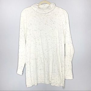 Calvin Klein wool blend cow neck sweater sz 1X